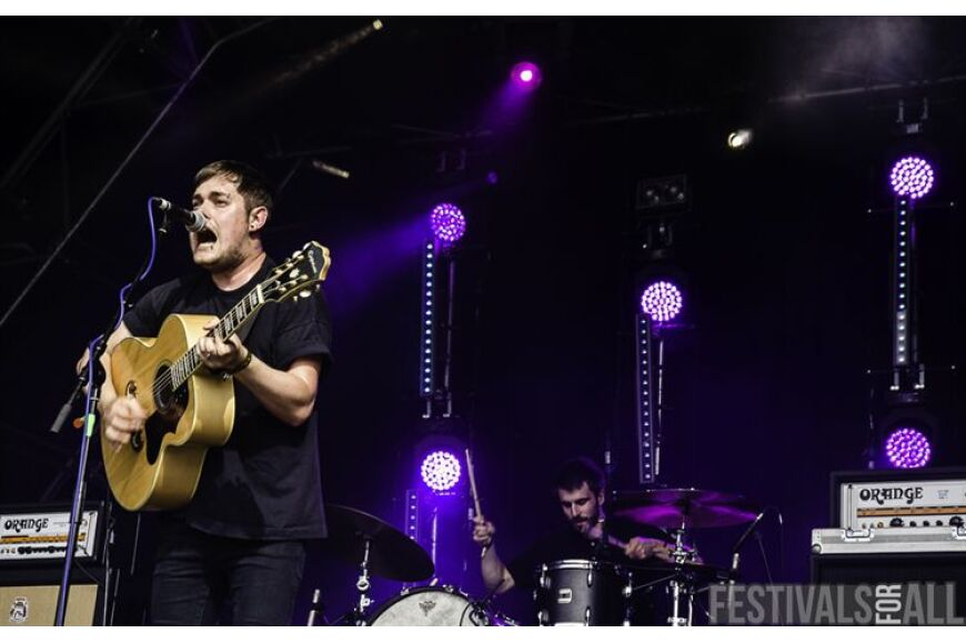 Jim Lockey and the Solemn Sun at 2000trees 2013