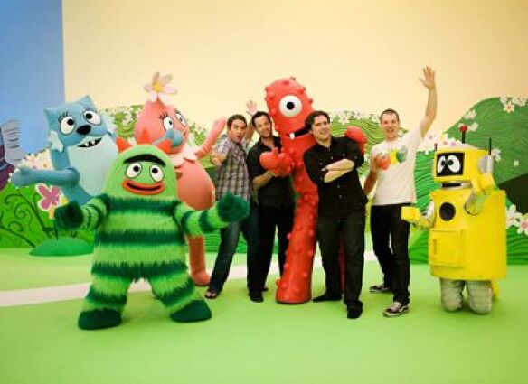 jimmy eat world on yo gabba gabba!