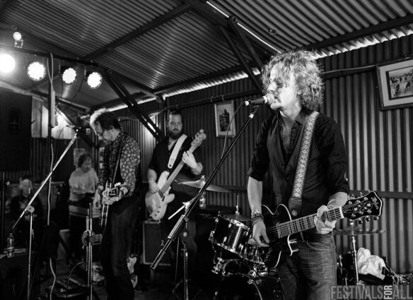 Joel Fisk & The Breakdown at Brownstock Festival 2015