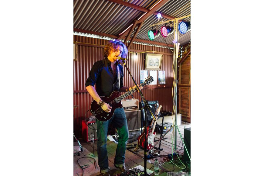 Joel Fisk & The Breakdown at Brownstock 2015