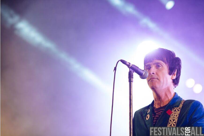 Johnny Marr at Festival No 6