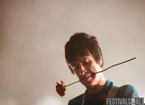 Johnny Marr at Festival No 6 2013