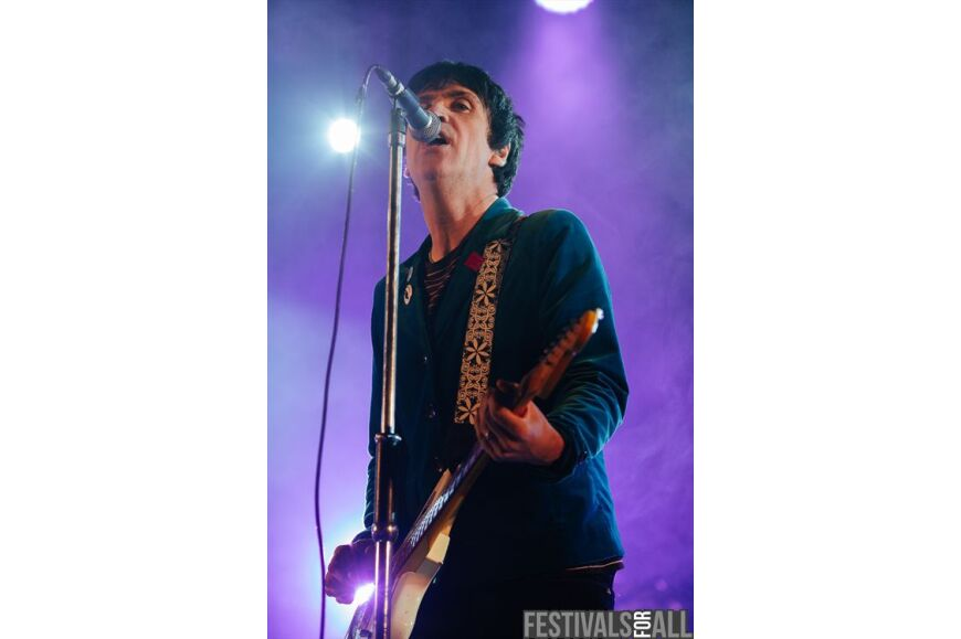 Johnny Marr at Festival No 6