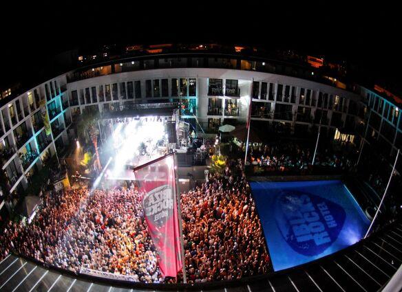 Kasabian at Ibiza Roks 2012