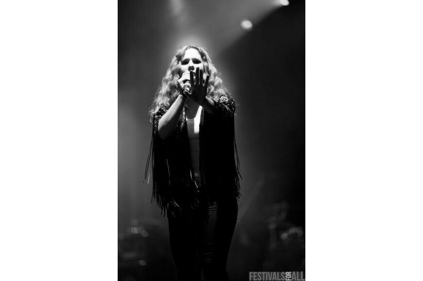 Katy B at V Festival