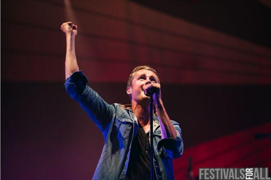 Keane at Cornbury 2013