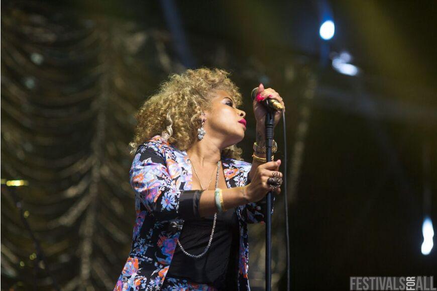 Kelis at Festival No 6 2014