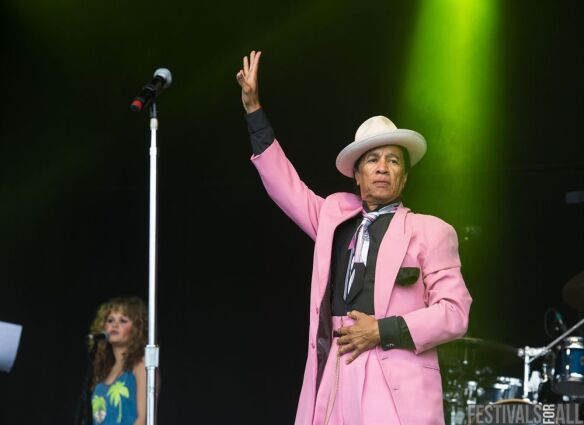 Kid Creole & The Coconuts at Cornbury Festival 2014