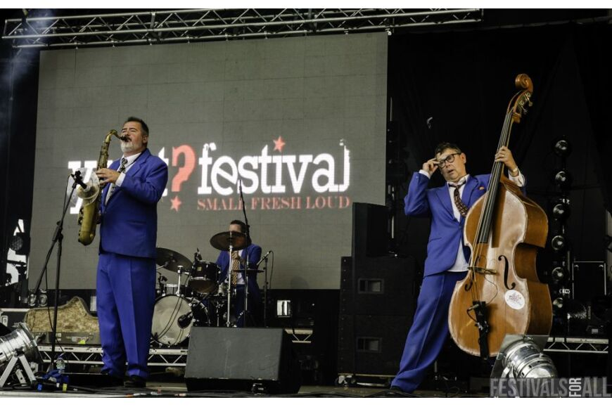 King Pleasure & the Biscuit Boys @ Y Not Festival 2014