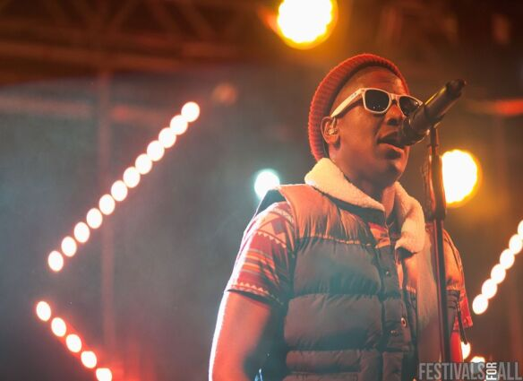 Labrinth at Brownstock 2012