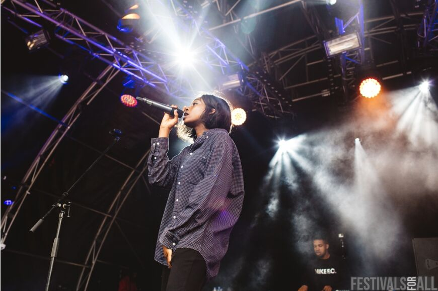 Little Simz at LeeFest