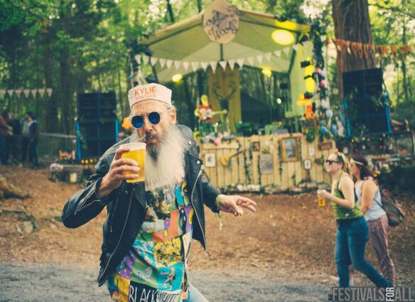 Lost in the woods at Festival No:6 2015