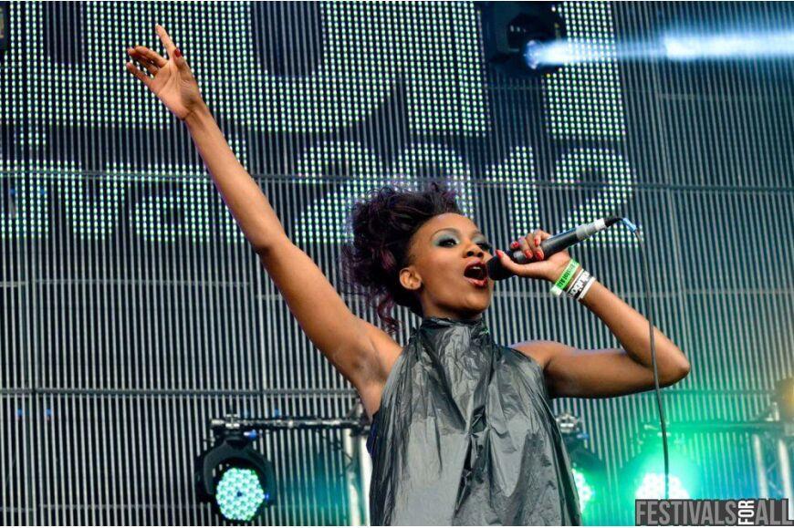 Lulu James at Evolution 2012