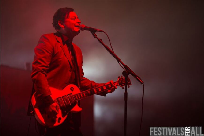 Manic Street Preachers at Festival No 6 2013