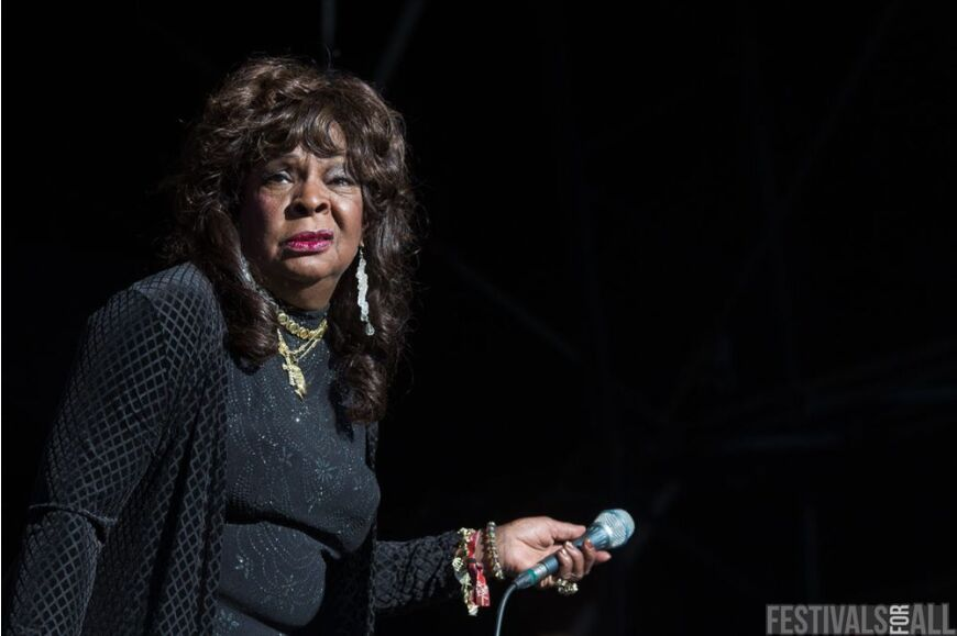 Martha Reeves and The Vandellas at Festival No 6 2014