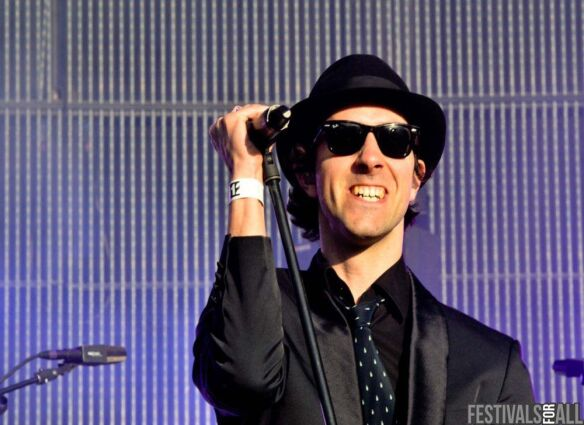 Maximo Park at Evolution Festival 2012