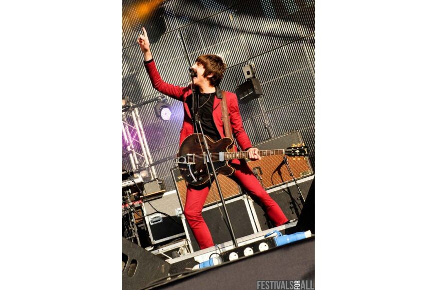 Miles Kane at Evolution 2012