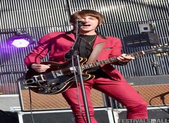 Miles Kane at Evolution Festival 2012