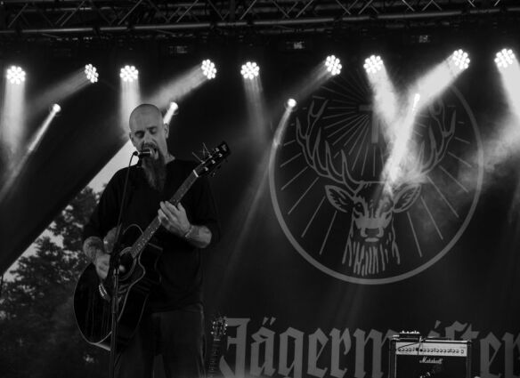 Nick Oliveri at Download Festival 2014