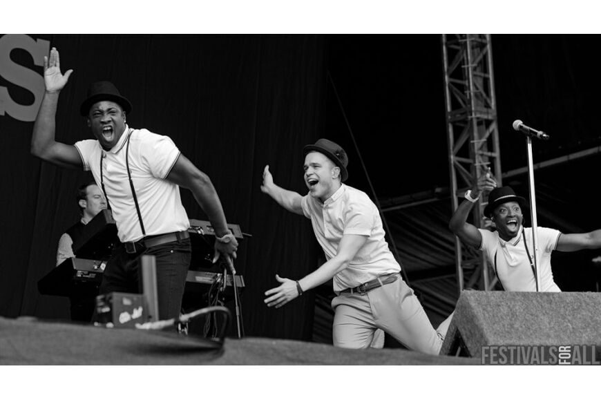 Olly Murs at  V Festival