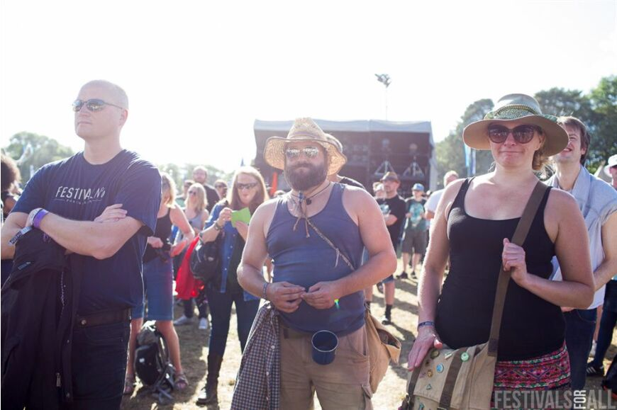 People at Festival No 6 2014
