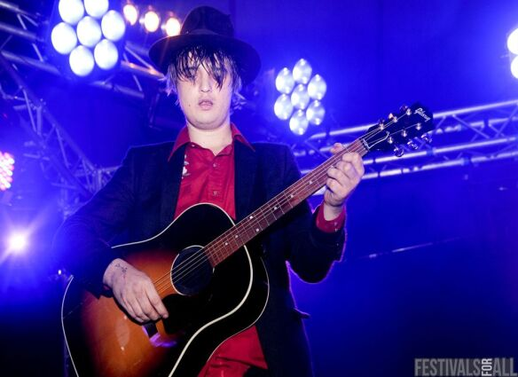 Peter Doherty at Leeds Festival 2011