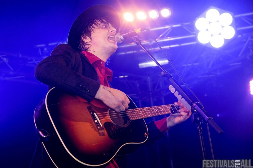 Pete Doherty at Leeds Festival 2011