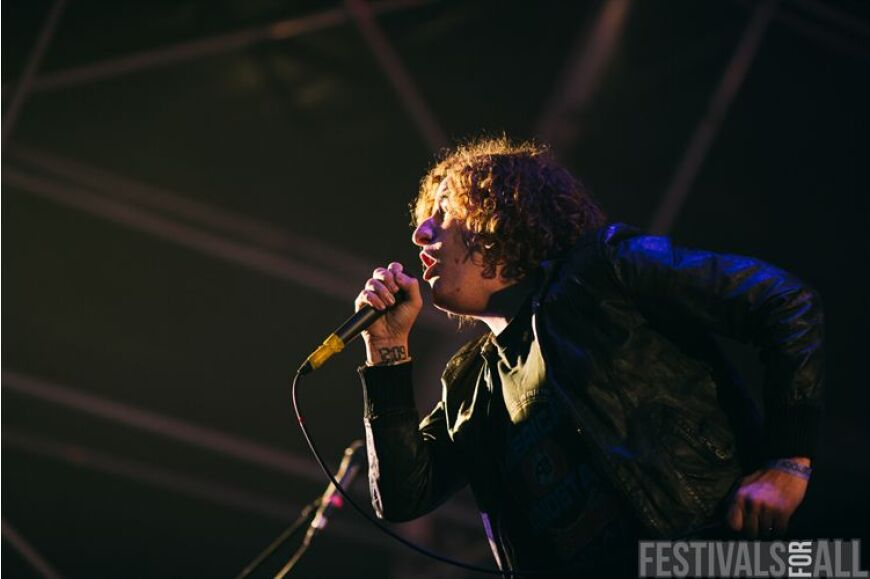 Pigeon Detectives at Brownstock 2013