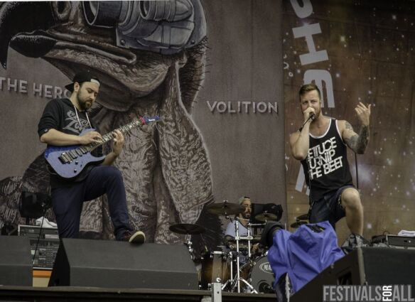 Protest The Hero at Sonisphere Festival 2014