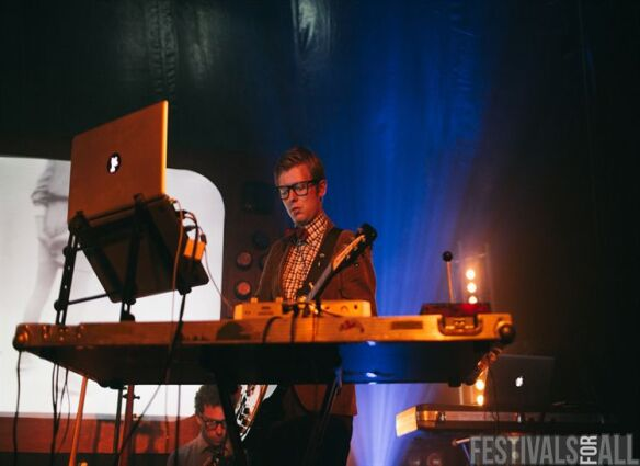 Public Service Broadcasting at LeeFest 2013