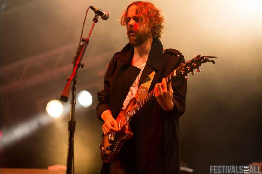 Razorlight at Brownstock Festival 2014