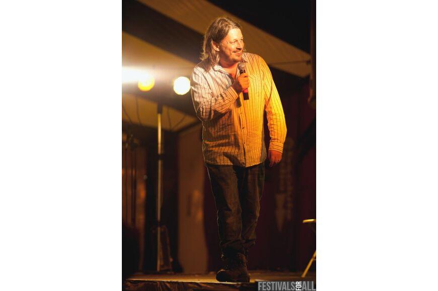 Richard Herring at Cornbury 2012