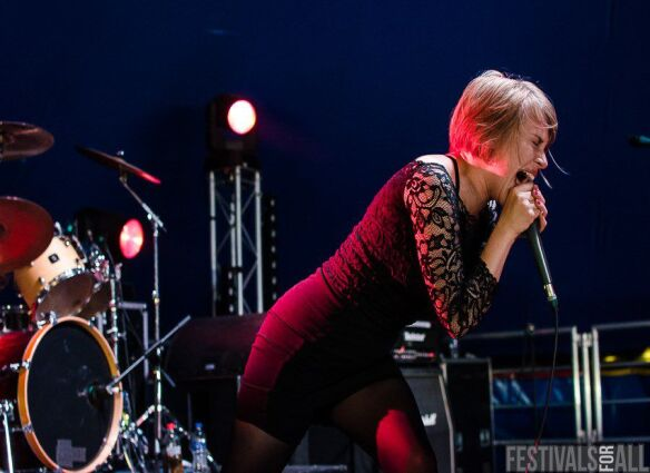 Rolo Tomassi at Y Not Festival 2015
