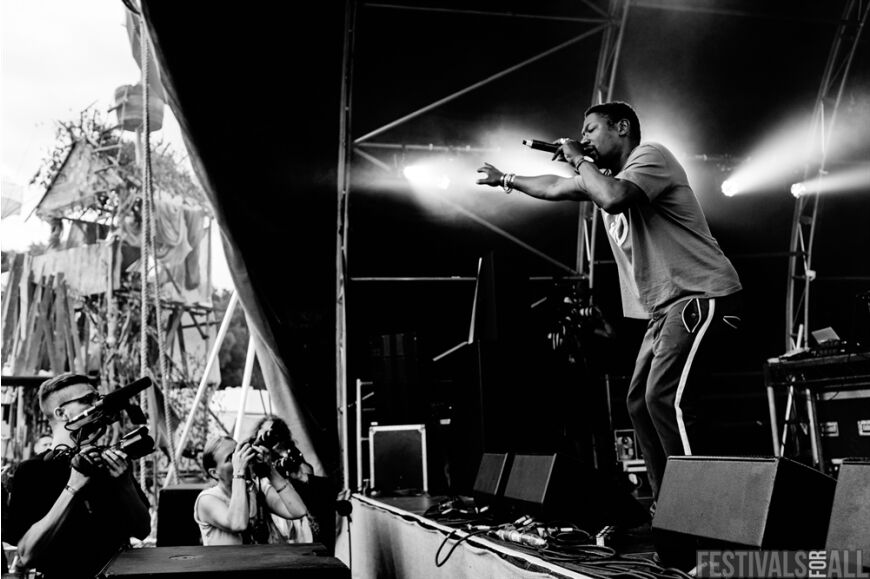 Roots Manuva at LeeFest