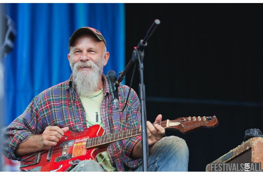 Seasick Steve at Cornbury 2012