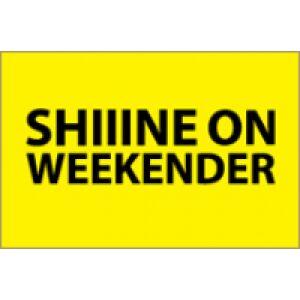Shiiine On Weekender 2018