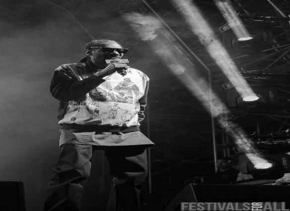 Snoop Dogg at Y Not Festival 2015