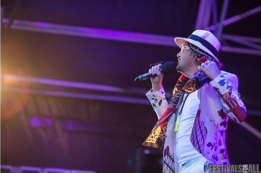 The Cuban Brothers at Brownstock Festival 2014