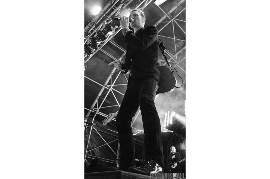 The Feeling at Brownstock Festival 2014