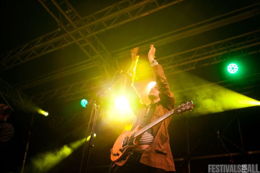 The Futureheads at Brownstock 2012