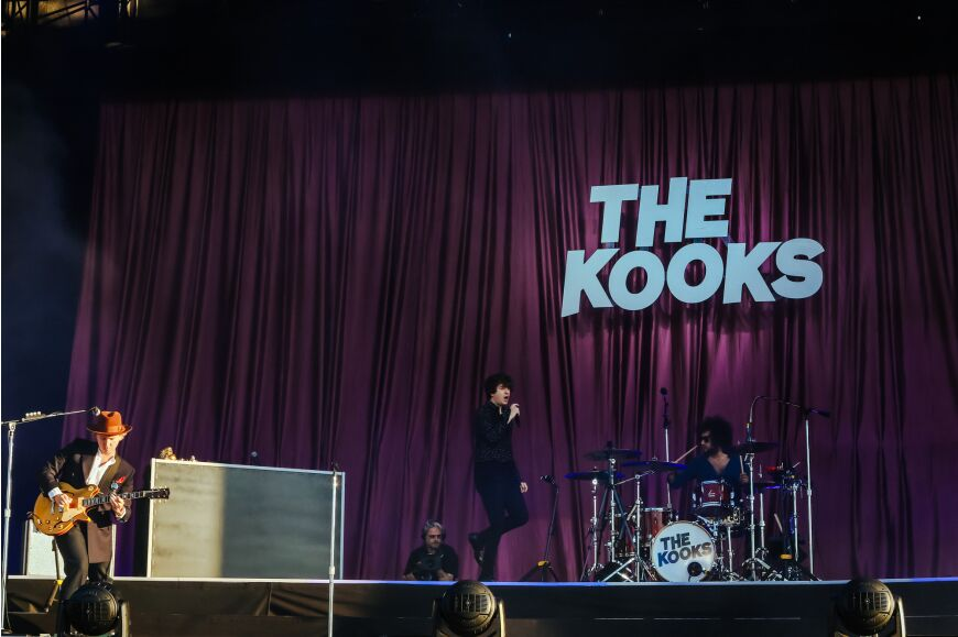 The Kooks at Community Festival 2019