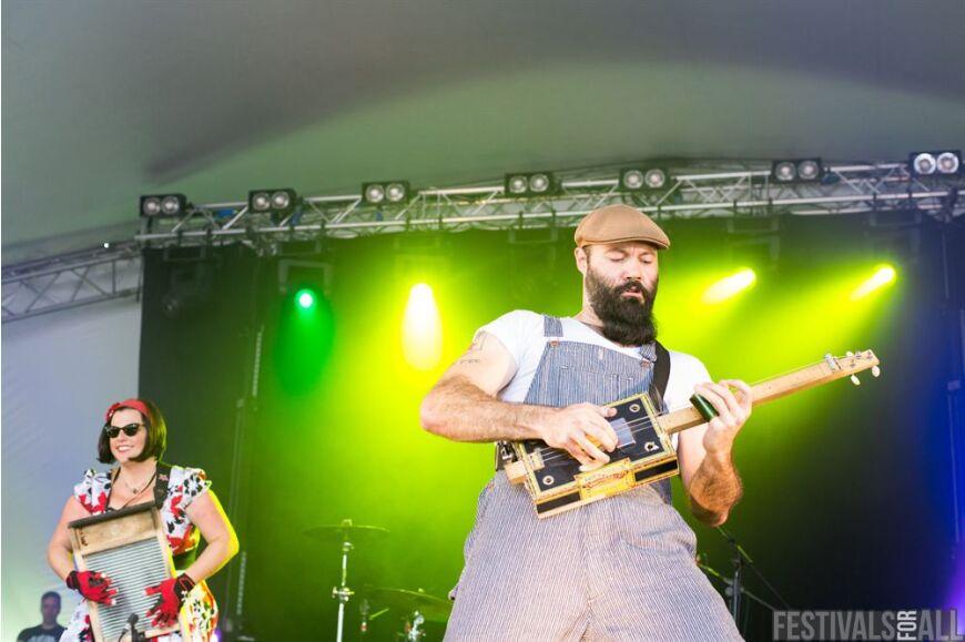 The Reverend Peyton's Big Damn Band at Cornbury 2014