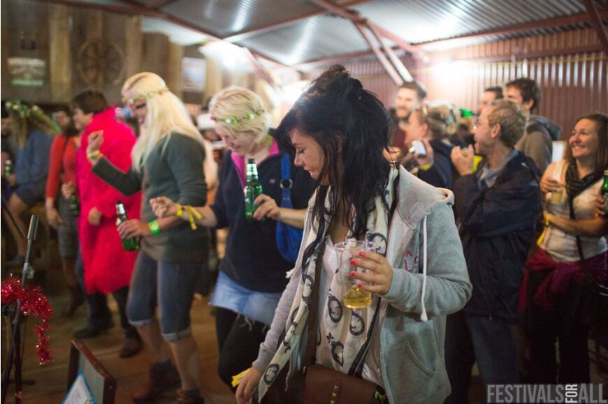 The Saloon Bar at Brownstock Festival 2014