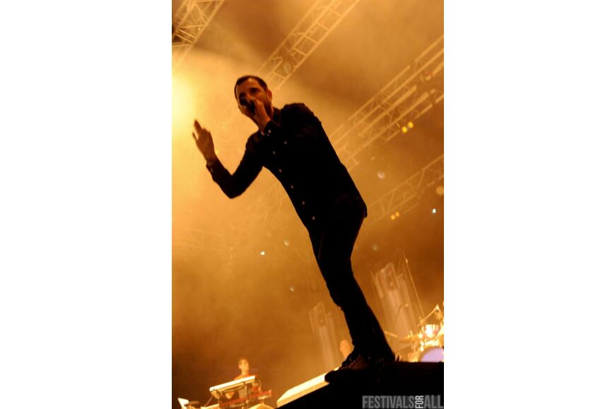 The Streets at Leeds Festival 2011