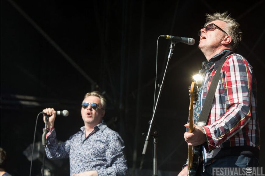 The Undertones at Festival No 6 2014