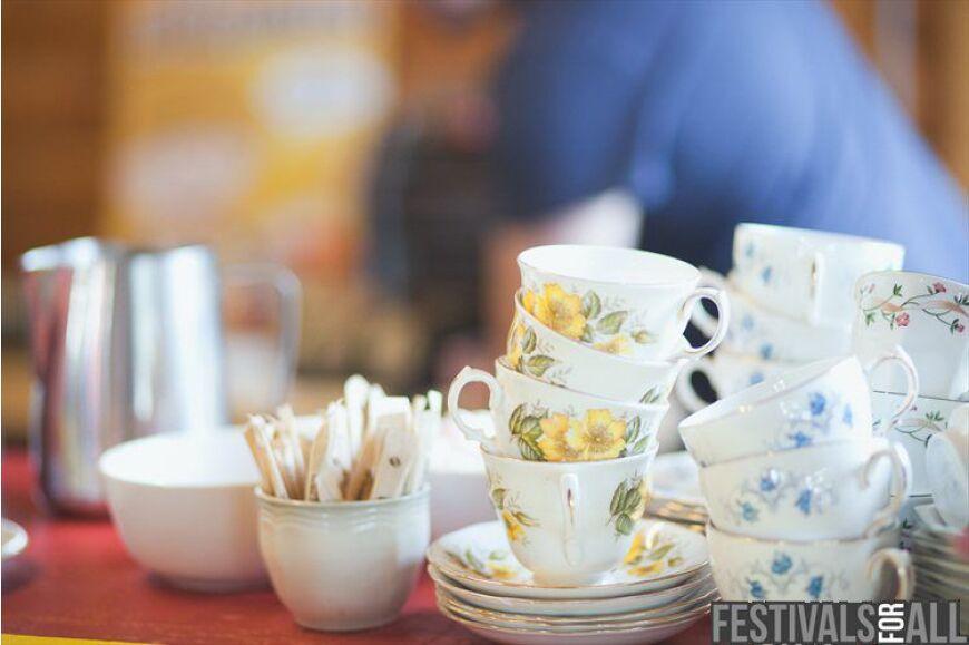 Tim Burgess Tea Rooms at Kendal Calling 2012