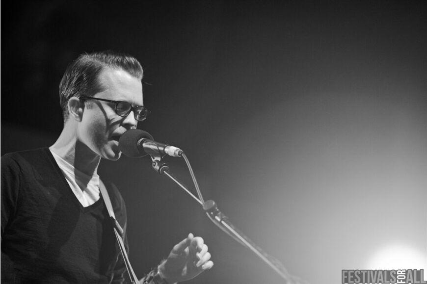Tom Vek at Festival No 6 2014