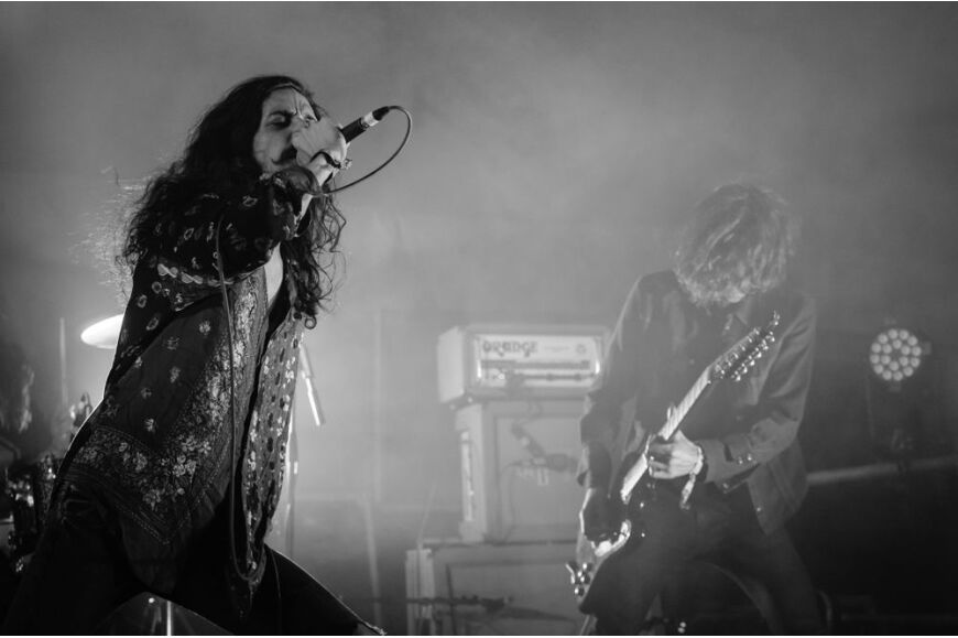 Turbowolf at ArcTanGent 2013
