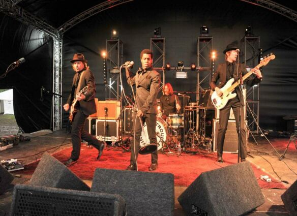Vintage Trouble at Willowman Festival 2012