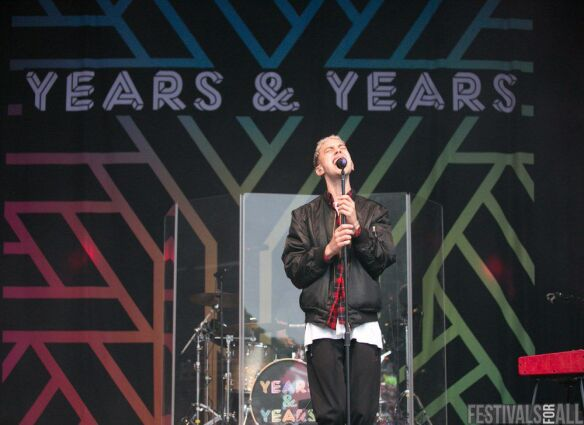 Years & Years at Festival No@6 2015